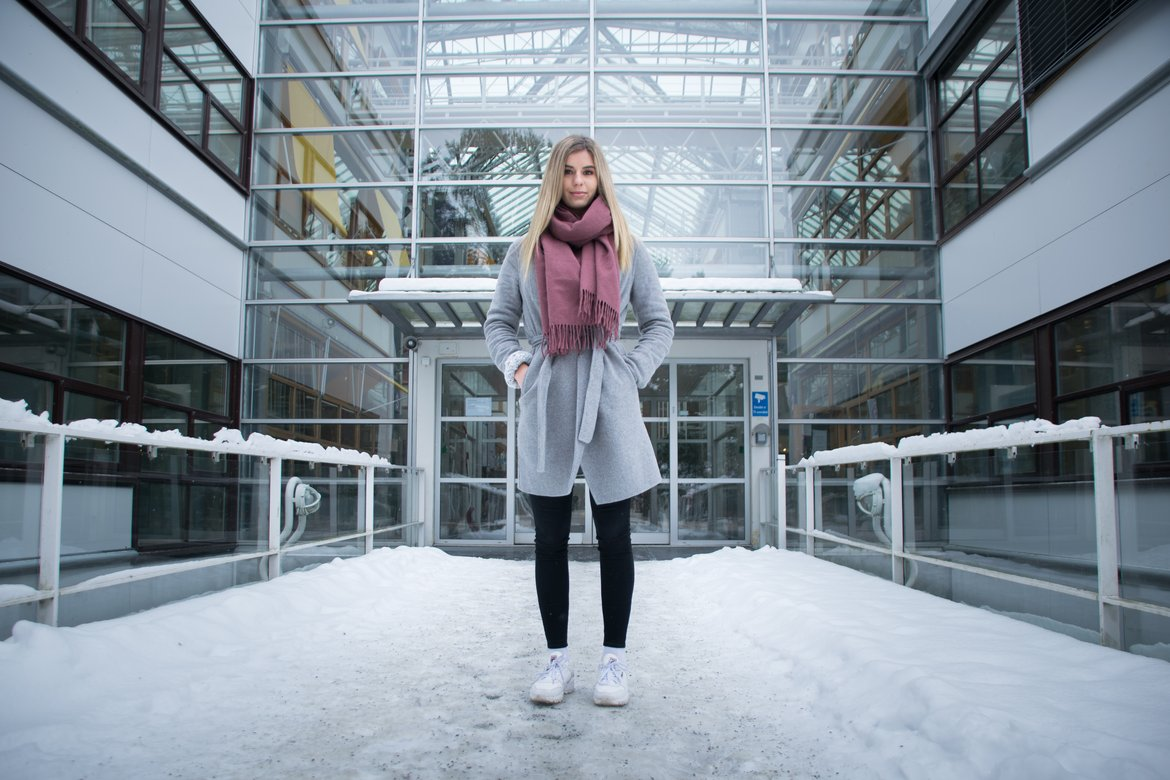 Article Dragvollstudenter fryser på campus image