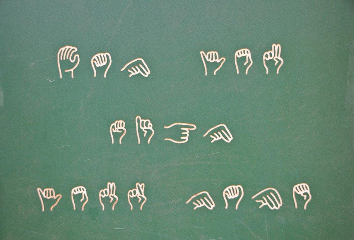 kultur sprak bruker tegnsprak aksenter