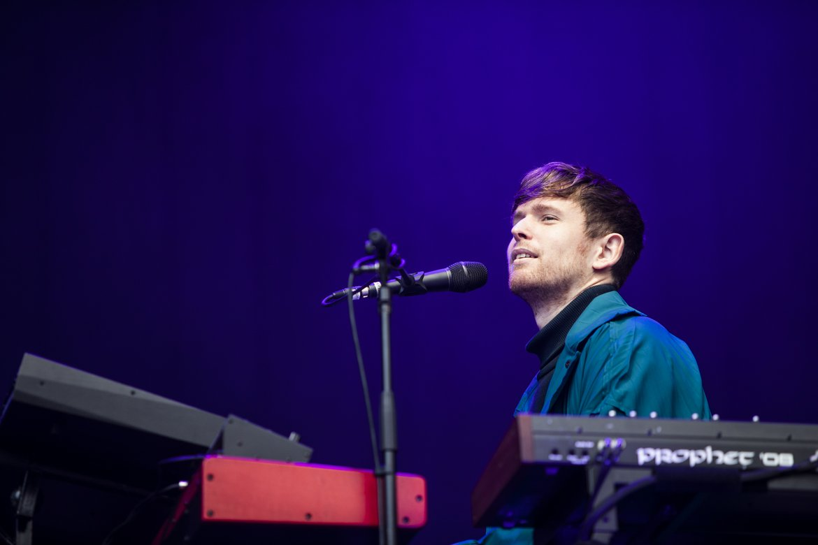 Article Øya: James Blake image